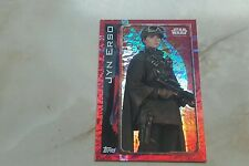 topps uk star wars rogue one card JYN ERSO