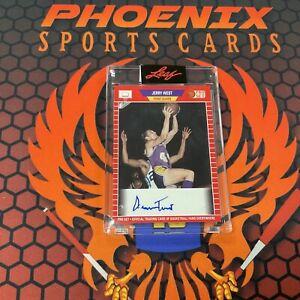 JERRY WEST Encased Auto 2021 Leaf Pro Set Multi Sports Autograph PHX