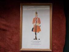 MILITARY FRAMED PRINT  BY P H SMITHERMAN (hugh evelyn print)(grenadier 3rd foot)