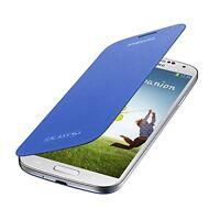 Genuine Samsung Galaxy S4 Flip Cover Case - Light Blue