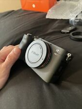 Sony Alpha a7C 24.2MP Mirrorless Camera - Silver (Body Only)