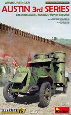 MiniArt WWI 1 35 Scale Model Kit Austin Armored Car (soviet Service) Min39007