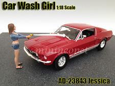 AMERICAN DIORAMA CAR WASH GIRL FIGURE FOR 1/18 DIECAST AD-23843 JESSICA