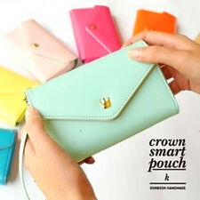 PC Apple iPhone/Galaxy S/Smart Phone Case Card Coin Wallet Smart Purse UK SELLER