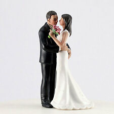 Main Squeeze Medium Skin Tone Cheeky Couple Funny Wedding Cake Topper