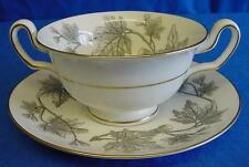 WEDGWOOD W4106 ASHFORD SOUP COUPE CUP & SAUCER