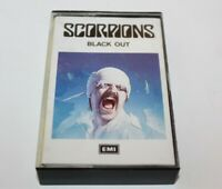 Scorpions Black Out Album Cassette Tape TCEMCS2042