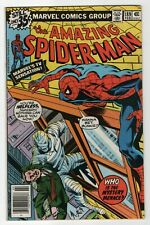 The Amazing Spider-Man #189 Feb 1979 Fn+ (6.5) Jjj's son-the Man-Wolf, Byrne art