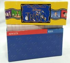 Wonderful World of Disney Replacement Trivia Cards Box Set Adult Kids Parts 90s