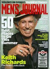 2013 Men's Journal Magazine: Keith Richards/Violence on Everest/Phil Jackson