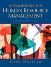 A Framework for Human Resource Management, Dessler, Gary, Good Book