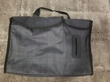 THIRTY ONE Pack n Pull Caddy, BLACK Cross Pop Bag CAR Organizer Tote, EUC