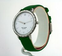Kate Spade New York Women's Scallop Green Leather Watch KSW1509, New