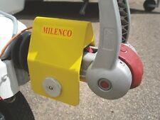 Milenco Super Heavy Duty Caravan Hitchlock - Alko 3004 Hitches Sold Secure Gold
