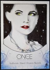 Cryptozoic Disney Once Upon a Time Ginnifer Goodwin as Snow White Sketch Card