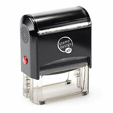 Personalised Rubber Stamps, Self Inking, Name Address Business Garage School etc