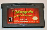 JIM HENSON'S THE MUPPETS: ON WITH THE SHOW NINTENDO GAMEBOY ADVANCE GBA GAME