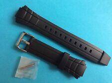 Casio uhrband mtr-501 plástico negro banda replacement Strap LW