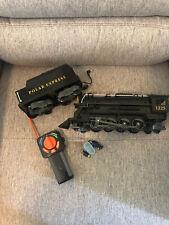 Lionel Polar Express Steam Engine And Coal Car. Controller. Read Description