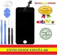 Pantalla Completa LCD Tactil Retina Para iPhone 5S Negro Negra + Herramientas