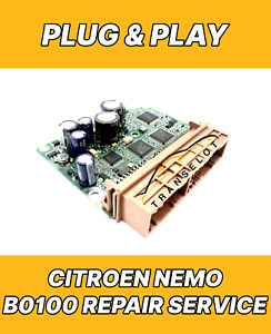 CITROEN NEMO 1371004080 AIRBAG ECU SRS MODULE FAULT B0100 REPAIR RESET SERVICE