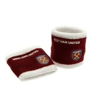 West Ham United FC Wristbands Sweatbands Official New Xmas Christmas Gift