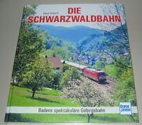 Bildband Die Schwarzwaldbahn Klaus Scherff Schwarzwald Eisenbahn Bahn Buch NEU!
