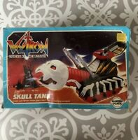 1984 Voltron SKULL TANK Panosh Place With Box Figure