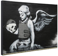Banksy Black Art Prints