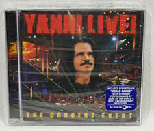 Yanni Live: The Concert Event by Yanni Music CD 2006 New Sealed *