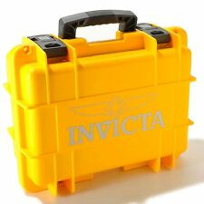 Invicta Men's Eight  8 Slot  Yellow Dive,Diver Box Case Watch,New