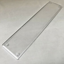 VINTAGE MID CENTURY 1950s CLEAR PLASTIC FINGER DOOR PLATE, RETRO HOME DECOR