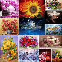 DIY 5D Diamond Painting Flower Animal Embroidery Cross Stitch Craft Home Decor