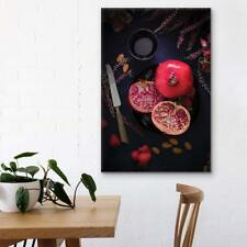 Wall26 - Red Pomegranates Gallery - Canvas Art Wall Decor - 16x24 inches
