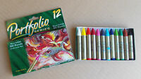 Portfolio Series - 12 Water Soluble Oil Pastels free post