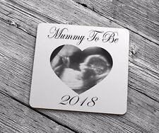 New Mummy To Be 2018 Coaster Gift BS201 Baby Scan Image Best Mum Mom Mothers Day