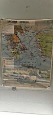 More details for vintage old school  map of ancient greece/the empire of alexander