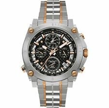Bulova Precisionist Chronograph Two-Tone Mens Watch 98G256