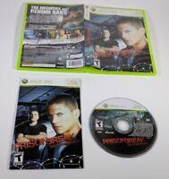 Prison Break The Conspiracy Xbox 360 2009 Complete