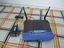 Linksys WRT54GL 54 Mbps 4-Port 100 Mbps Funk Router / DB101250 / gebraucht