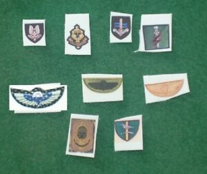 1/6 scale British SFSG Special Forces Support Group Patch lot