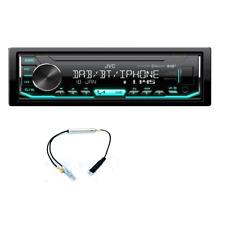 JVC KD-X451DBT Autoradio senza CD con USB e Bluetooth Adattatore Antenna DAB-FM