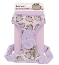 Pusheen Pink Adjustable Cat Harness Lead Set, With Leash, New