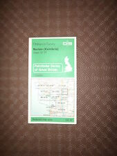 "Ordnance Survey Map 2.5"" map SD57 Burton 1979 Greystone Holme Carnforth, edge."