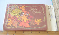 ~HALLMARK INVITATIONS~YOU'RE INVITED~FALL / AUTUMN MOTIF~PACKAGE OF EIGHT~~