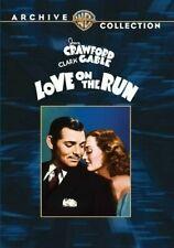 Love on The Run 0883316140345 With Clark Gable DVD Region 1