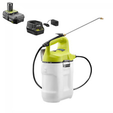Ryobi Cordless Chemical Sprayer Mister 2 Gallon 18-Volt Lithium-Ion with Battery