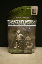 NEW 2004 'STAR WARS BATTLEFRONT' 'SCOUT TROOPER' ACTION FIGURE