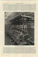 1925 Motor Ship Raby Castle Main Engines