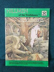 MERP Hillmen of the Trollshaws by Iron Crown Enterprises (I.C.E.) 1984
